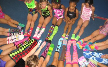 Just Kids Camps 2013 sock fun