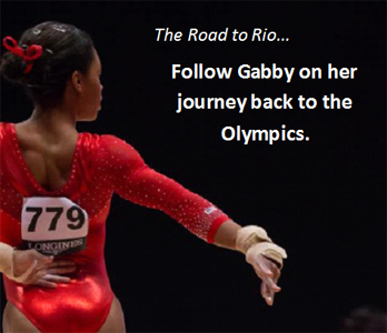 Gabby Douglas - Road to Rio Square