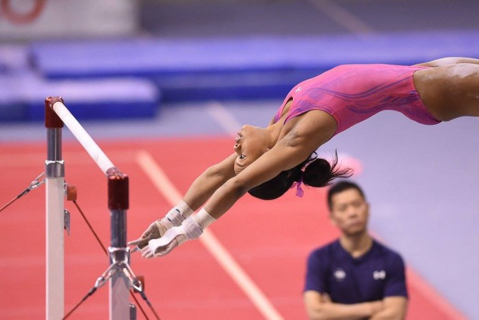 Gabby Douglas wins Jesolo Competition.