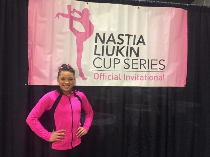 www.buckeyegymnastics.com   Makarri to compete in Nastia Cup Nastia Cup