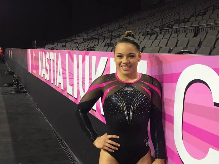 www.buckeyegymnastics.com   Makarri shines in her 5th ... Nastia Cup